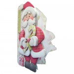 Jolly Santa Shaped Fold Card - view 2