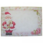 Jolly Santa Shaped Fold Card - envelope front