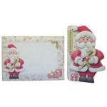 Jolly Santa Shaped Fold Card - finished set