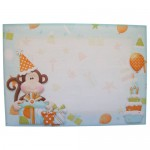 Cheeky Birthday Monkey Shaped Fold Card - envelope front