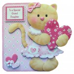 Kitty Kat Shaped Card - view 1