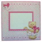 Kitty Kat Shaped Card - envelope front