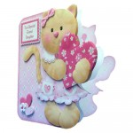 Kitty Kat Shaped Card - view 2