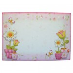 Like Flowers Shaped Tri Fold Card - envelope front