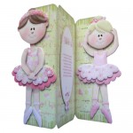 Ballet Shaped Tri Fold Card - view 2