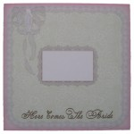 Wedding Belle Bell Shaped Easel Card - envelope