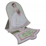 Wedding Belle Bell Shaped Easel Card - view 2