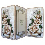 Timeless Roses Tri Fold Card & Gift Wrap Set - Card