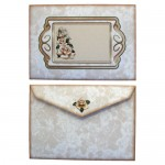 Timeless Roses Tri Fold Card & Gift Wrap Set - envelope