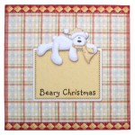 Beary Christmas Over The Top Card - envelope