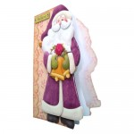 Believe In Santa Shaped Fold Card - view 2