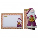 Believe In Santa Shaped Fold Card - finished set