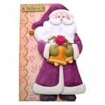 Believe In Santa Shaped Fold Card - view 1