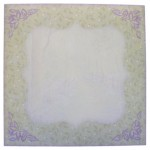 Bluebell Woods 7x7 Bracket Edge Shadow Box Card - envie front