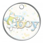 Baby Boy Gift Tag
