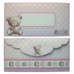 My Cute Teddy Over The Top Card - envelope