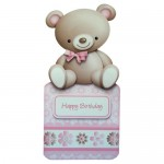 My Cute Teddy Over The Top Card - view 1