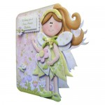 Fairy Best Wishes Shaped Card - view 2