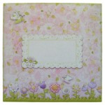 Fairy Best Wishes Shaped Card - envelope front
