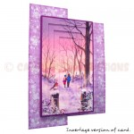A Walk In the Snow Foldback Card - view 1