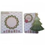 3D Christmas Tree Shaped Fold Card - finished set