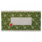 Winter Botanical Pyramage Tri Fold Cracker Card - envelope