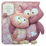 Owl Always Love You Shaped Fold Card - view 1