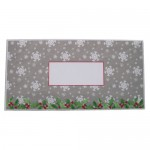 Snowy House At Night Cracker Easel Card - envelope