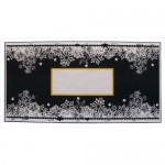 Winter Church At Night DL Cracker Easel Card - envelope front