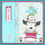 Glad Tidings 8x8 Card Front