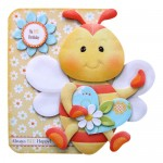 Always Bee Happy Shaped Fold Card - view 1