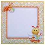 Always Bee Happy Shaped Fold Card - envelope front
