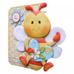 Always Bee Happy Shaped Fold Card - view 2