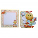 Always Bee Happy Shaped Fold Card - finished set
