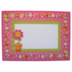 Cheerful Greetings Assymetric Fold & Panel Card - envie front