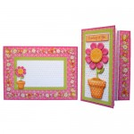 Cheerful Greetings Assymetric Fold & Side Panel Card - set