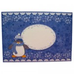 Have a Cool Yule! Penguin Cracker Easel Card - envelope