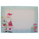 Santa's Train Over the Top Easel Card - envelope front