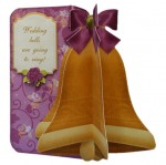 Wedding & Anniversary 3D Bell Shaped Card - view 2
