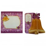 Wedding & Anniversary 3D Bell Shaped Card - finished set