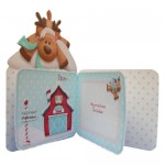 Reindeer Games Over The Top Card - inside view