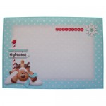 Reindeer Games Over The Top Card - envelope front