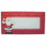 Santa Over The Top Card - envelope front