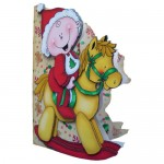 First, Second or Young Child�s Christmas Shaped Fold Card 2