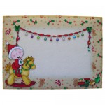 First, Second or Young Child�s Christmas Shaped Fold Card 4