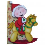 First, Second or Young Child's Christmas Shaped Fold Card 1