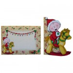 First, Second or Young Child's Christmas Shaped Fold Card 6