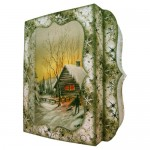 Woodland Christmas 7x7 Shadow Box Fold Card - view 2