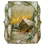 Woodland Christmas 7x7 Shadow Box Fold Card - view 1