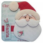 I Believe In Santa Shaped Fold Card - view 1
